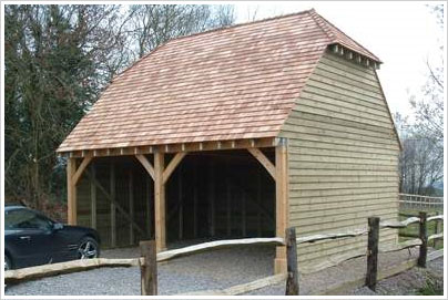 Garages Kit Oak Frame Garage Kits Style Diy