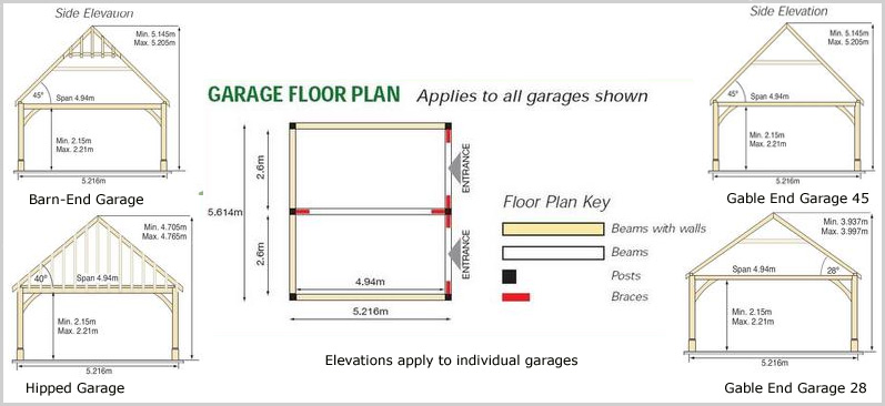 Download garage drawings uk plans free for Garage floor plan software