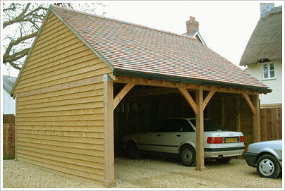 2 bay Gable End Garage